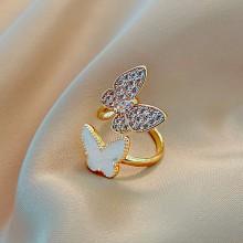 Butterflies Flutter Ring